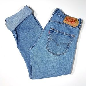 Levi's | Classic 501 High Rise Button Fly Jeans